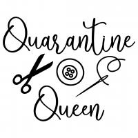 Quote Quarantine Queen SVG