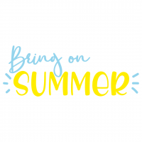 Quote Bring On Summer SVG
