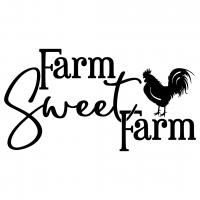 Quote Farm Sweet Farm SVG