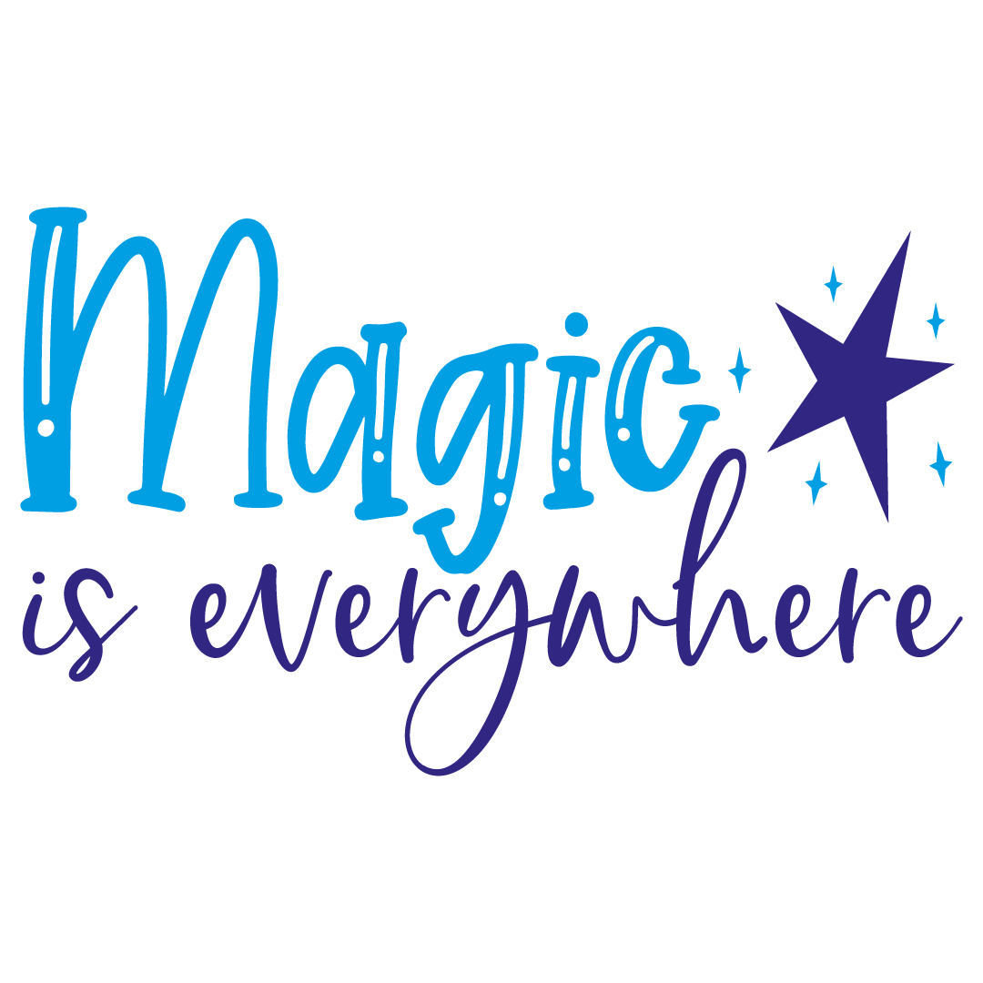 Quote Magic Is Everywhere SVG