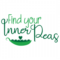 Quote Find Your Inner Peas SVG