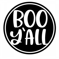 Halloween Boo Yall SVG