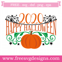 Happy Halloween 2020 SVG