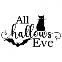 Quote Halloween All Hallows Eve SVG