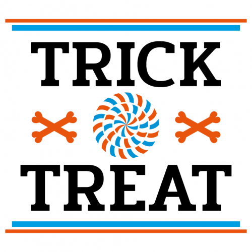 Quote Halloween Trick Or Treat SVG