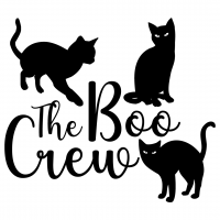 Quote Halloween The Boo Crew SVG