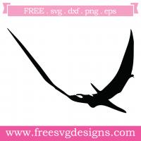 Dinosaur Silhouette Free SVG Files
