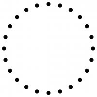 Dot Monogram Frame Free SVG Files