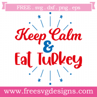 Quote Keep Calm Free SVG