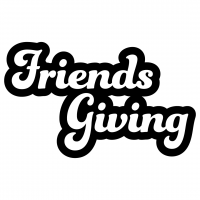 Quote Friends Giving Free SVG