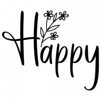 Quote Happy Free SVG