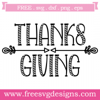 Quote Thanksgiving Free SVG