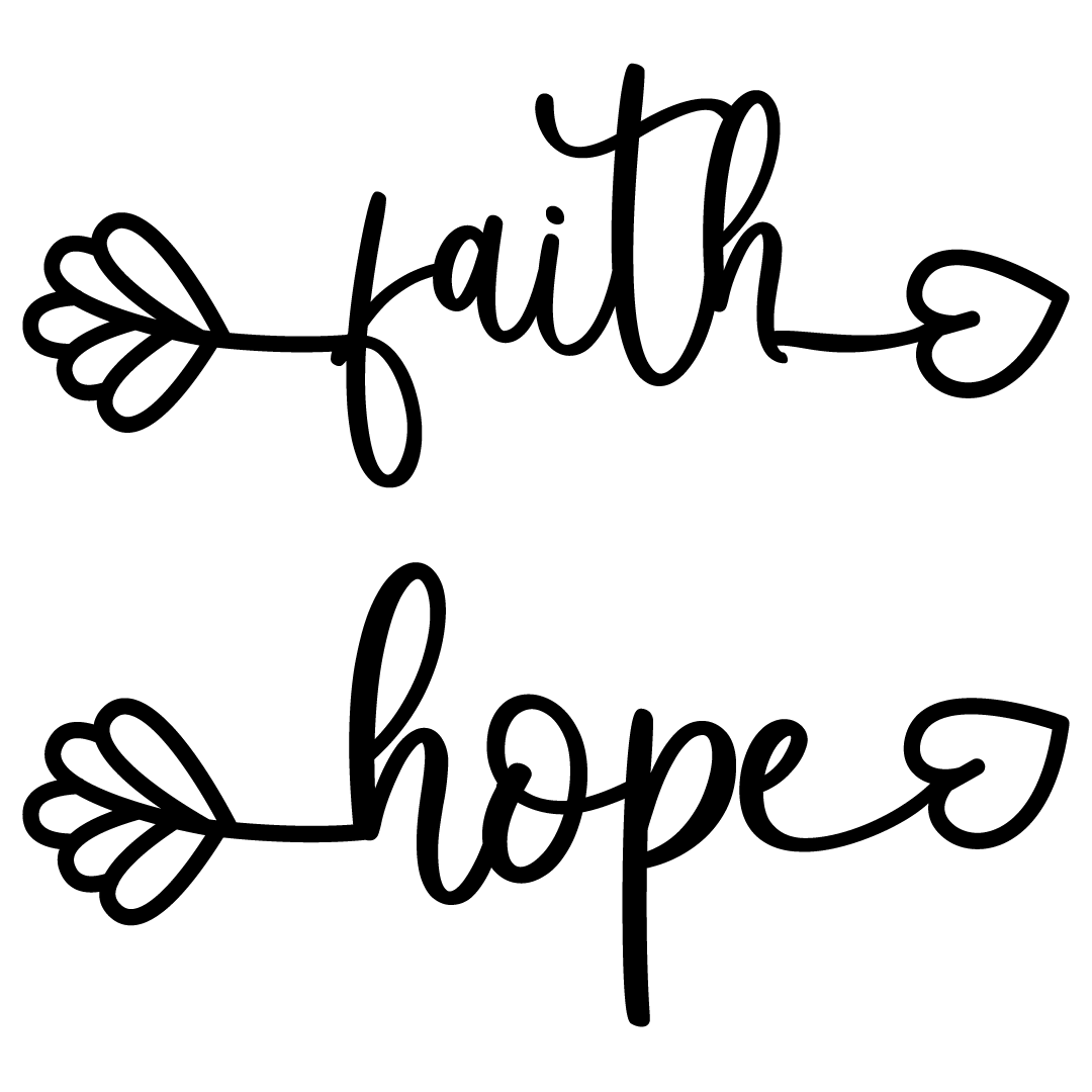 Faith and Hope Arrows Free SVG Files