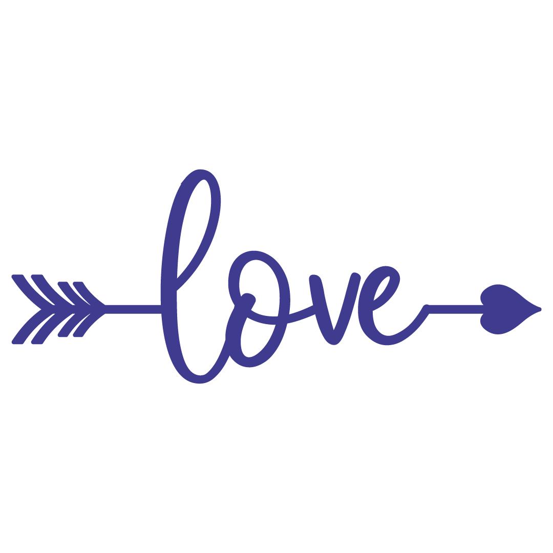Love Arrow Free SVG Files