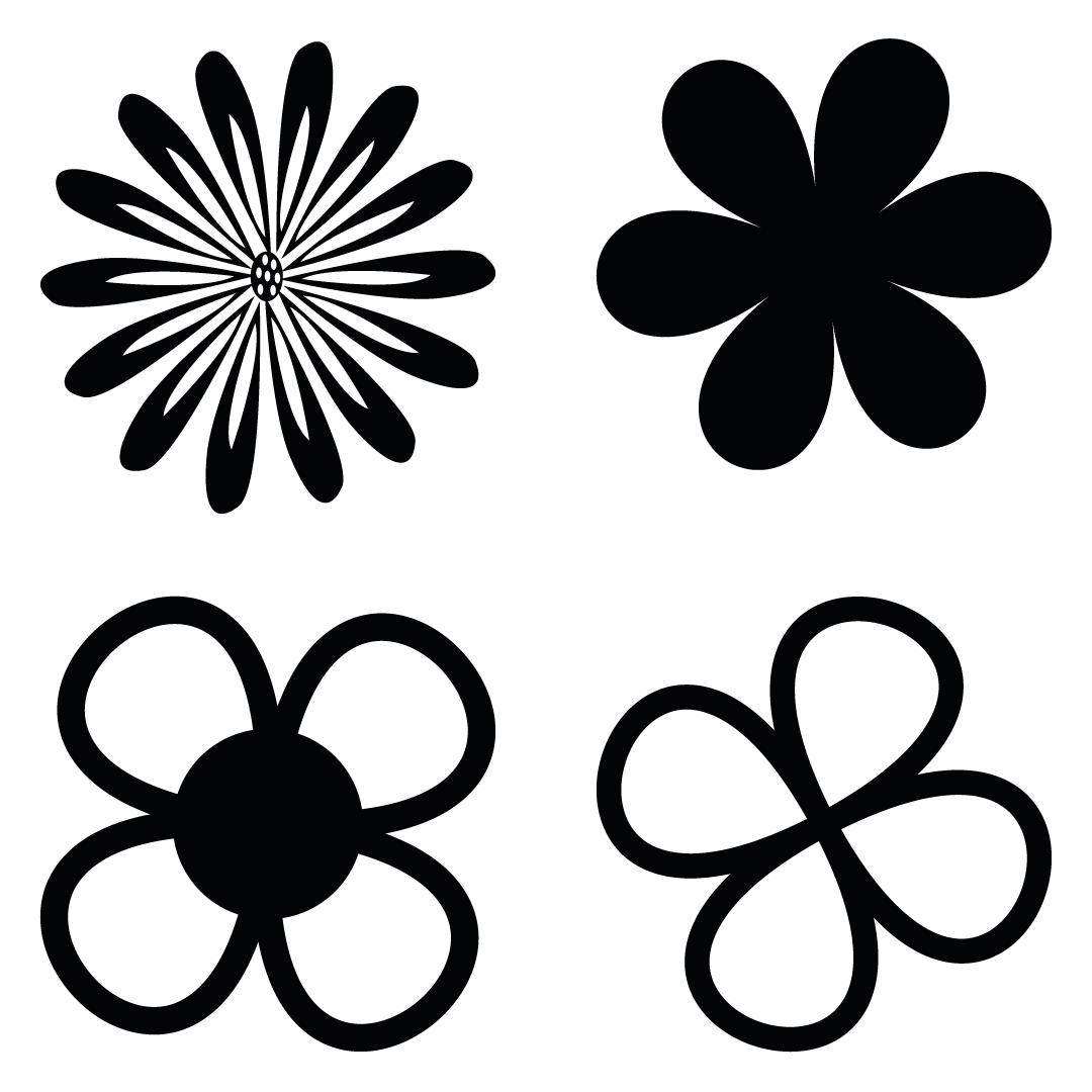 Flower Floral Elements Free SVG Files