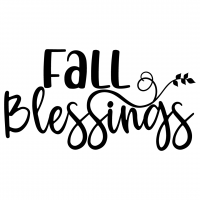 Fall Blessings Free SVG Files