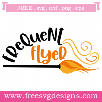 Halloween Frequent Flyer Free SVG Files