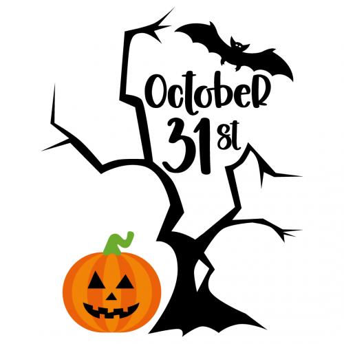 Halloween October 31st Free SVG Files
