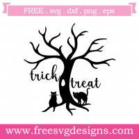 Halloween Trick Or Treat Free SVG Files