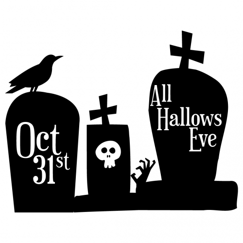 Halloween Spooky Graves Free SVG Files