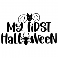 My First Halloween Free SVG Files
