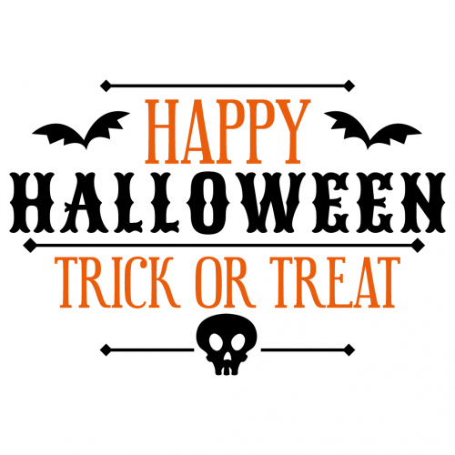 Free Svg Files Svg Png Dxf Eps Happy Halloween Trick Or Treat