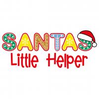 Christmas Santas Little Helper Free SVG Files