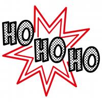 Christmas Ho Ho Ho Free SVG Files