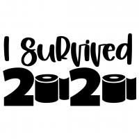 I Survived 2020 Free SVG Files