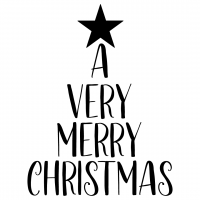 A Very Merry Christmas Free SVG Files