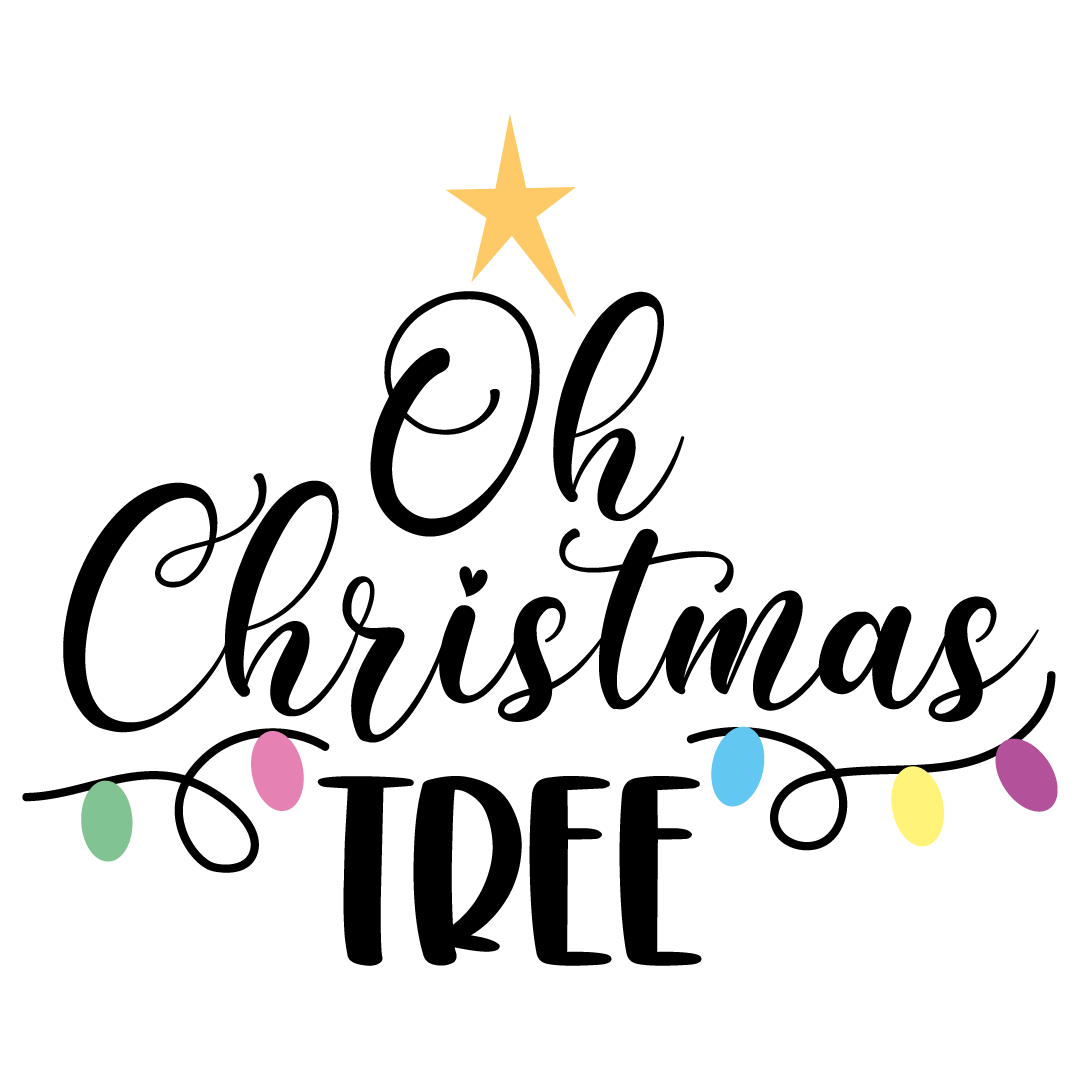 Oh Christmas Tree Free SVG Files