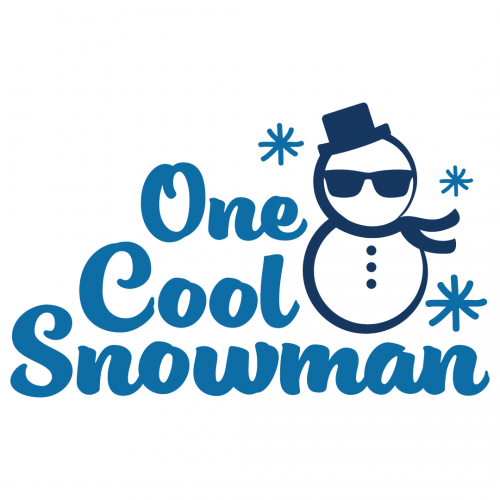 Christmas One Cool Snowman Free SVG Files