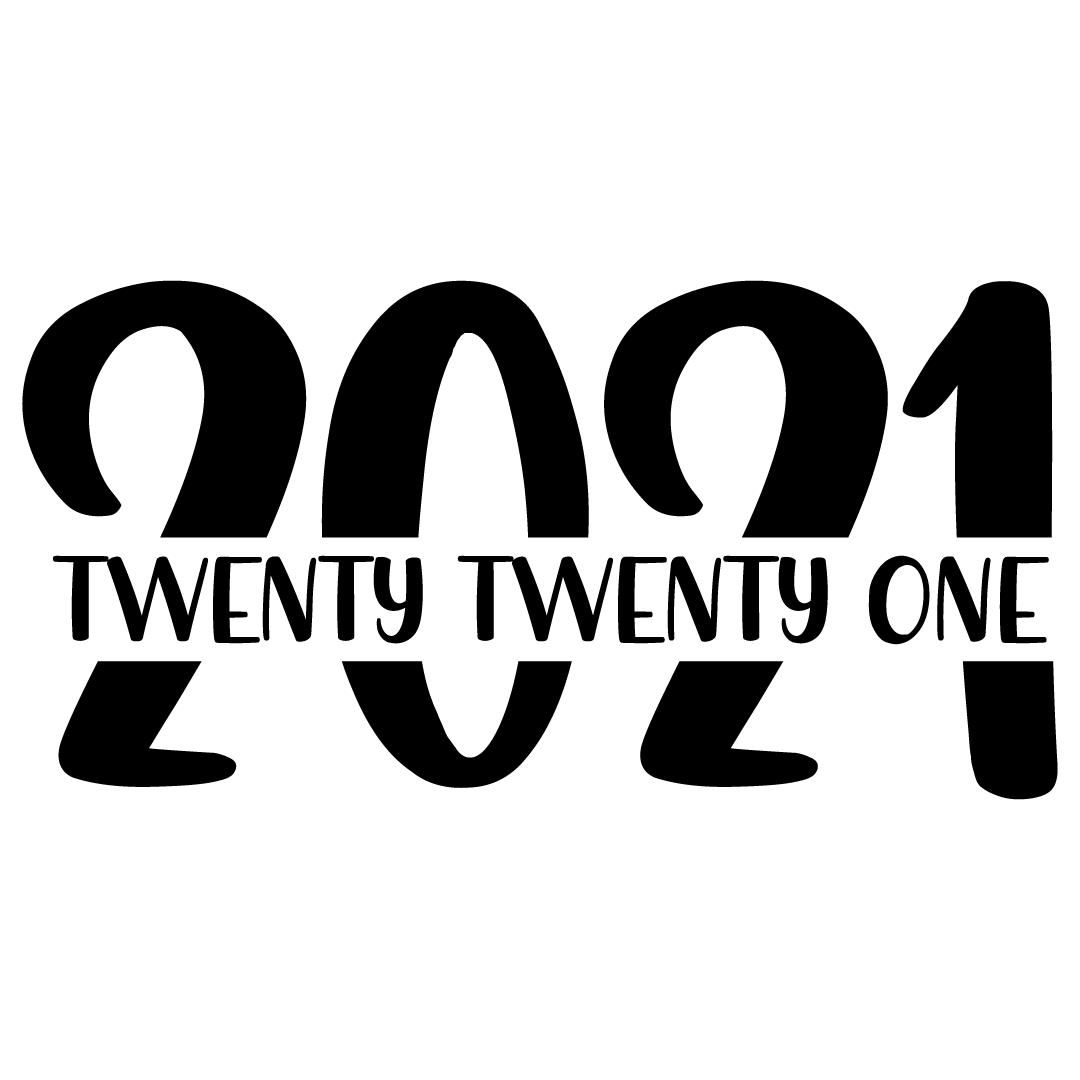 New Years 2021 Free SVG Files