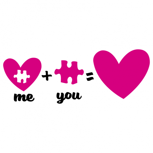 Valentines Love Heart Puzzle Free SVG Files