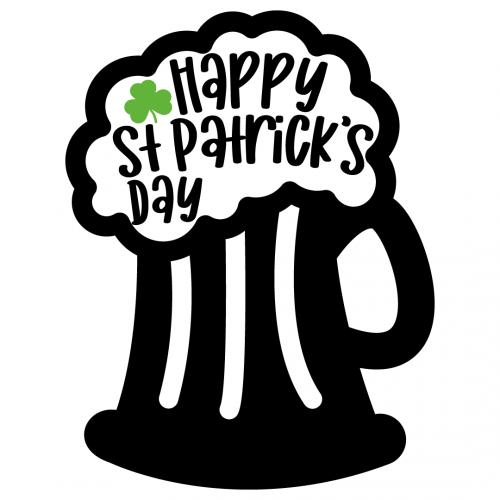 Happy St Patricks Day Free SVG Files