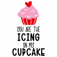 You Are The Icing On My Cupcake Free SVG Files