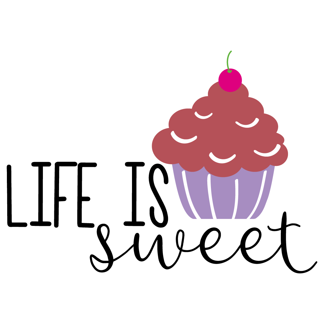 Cupcake Life Is Sweet Free SVG Files