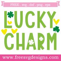St Patricks Lucky Charm Free SVG Files