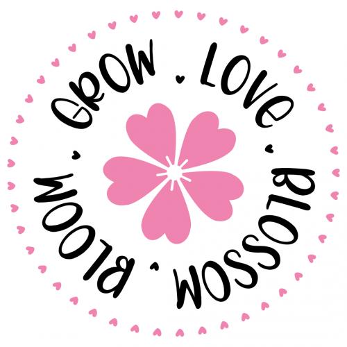 Blossom Bloom Grow Love Free SVG Files