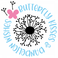 Butterfly Kisses & Dandelion Wishes Free SVG Files