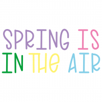 Spring Is In The Air Free SVG Files