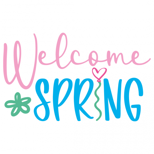 Welcome Spring Free SVG Files