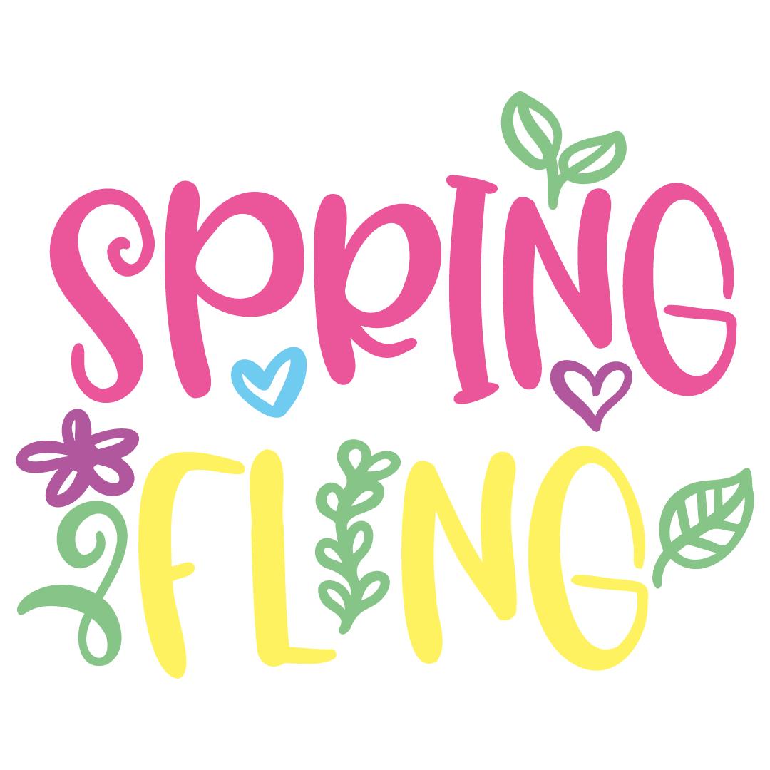 Spring Fling Free SVG Files