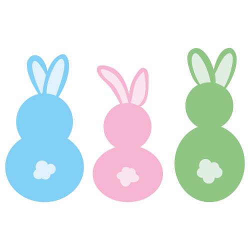 Easter Bunny Rabbit Free SVG Files