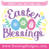 Easter Blessing Free SVG Files