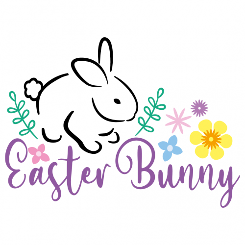 Easter Bunny Free SVG Files