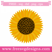 Sunflower Free SVG Files