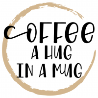 Coffee A Hug In A Mug Free SVG Files
