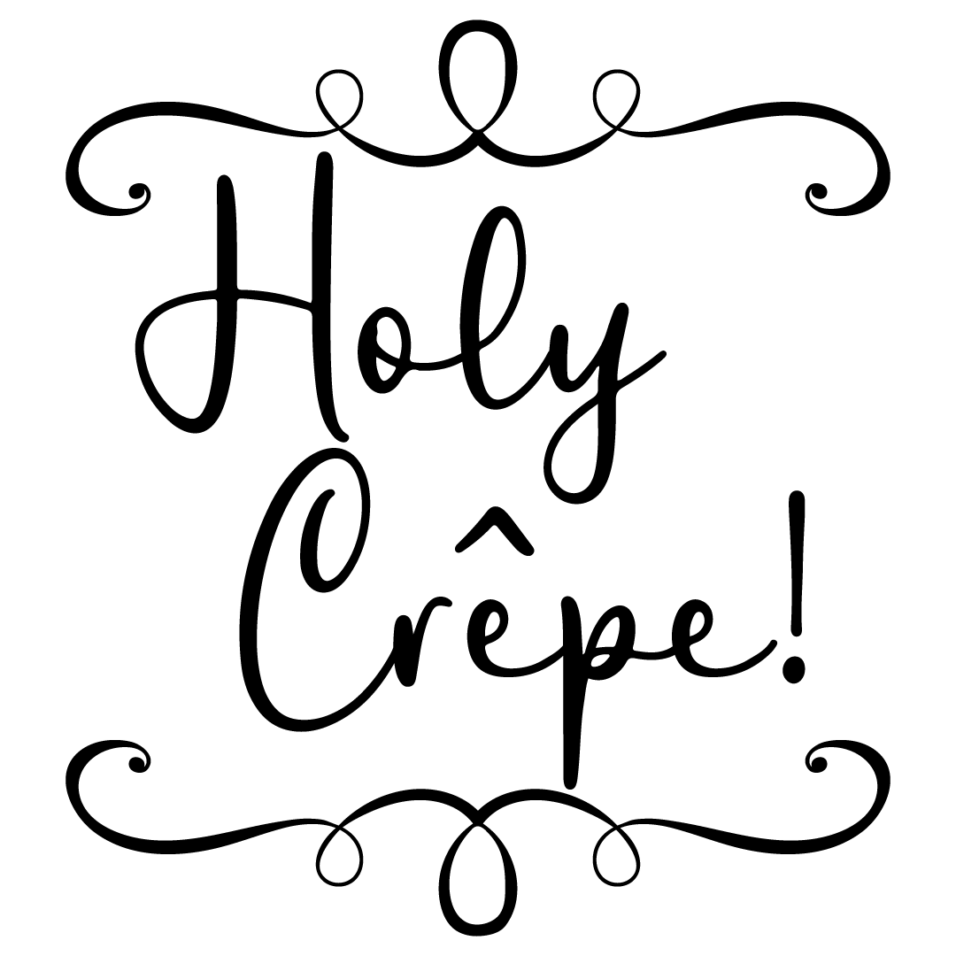 Holy Crepe Free SVG Files