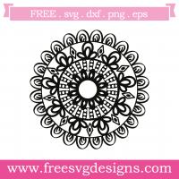 Mandala Free SVG Files